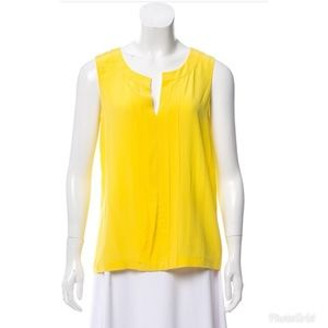 Kate Spade Womens yellow Sleeveless top